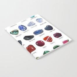 crystals gemstones identification Notebook