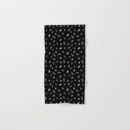 Beautiful Bugs Black Hand & Bath Towel