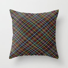 Weave 45 Black Throw Pillow