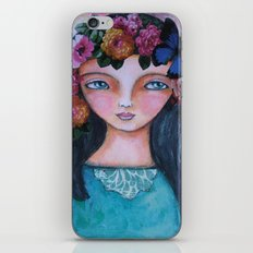 Today I am a flower! iPhone & iPod Skin