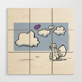 Back to the Clouds… Wood Wall Art