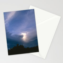 Ray of Hope in the Stormy Sky Stationery Cards
