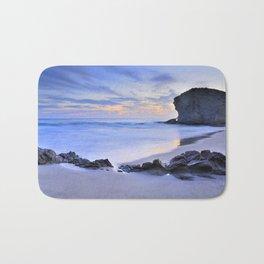 Monsul beach at sunset Bath Mat