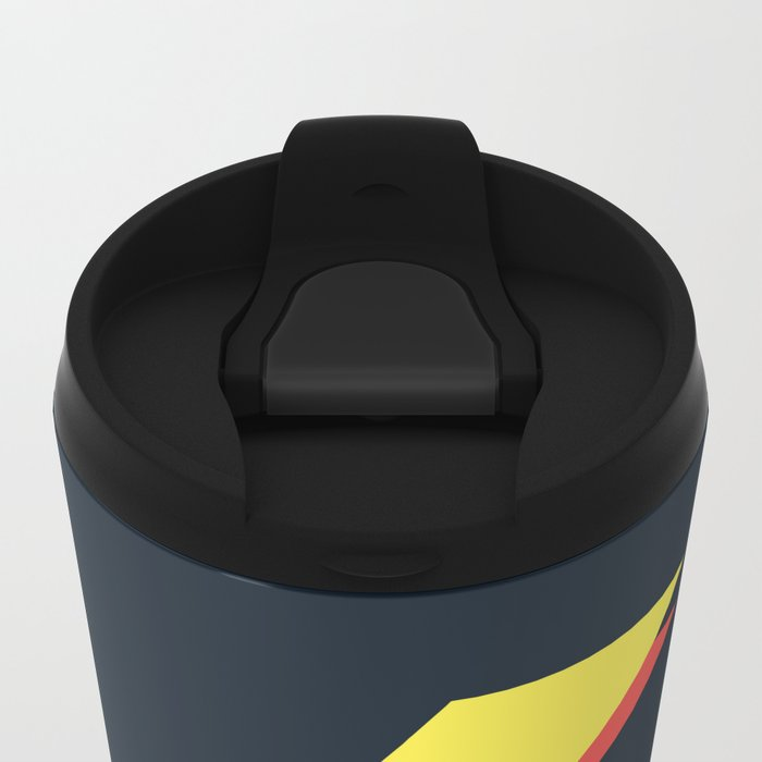 No Data Metal Travel Mug