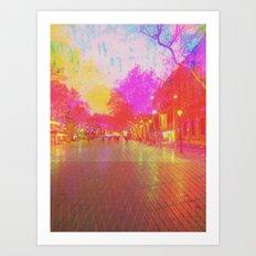 Multiplicitous extrapolatable characterization. 14 Art Print