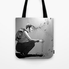 B&W No.9 Tote Bag