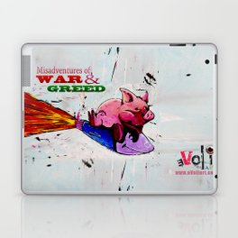 Misadventures of War and Greed Laptop & iPad Skin
