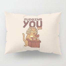 I'm Judging You Cat T-Shirt Pillow Sham