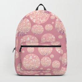 Blushing Bokeh Dots Backpack