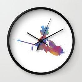 Joel Freeman's Miyazaki Art M1 Series: Kiki's Delivery Service Wall Clock