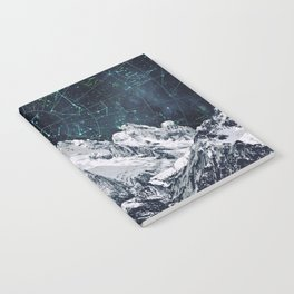 Constellations over the Mountain Notebook
