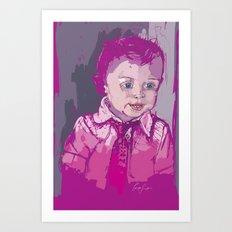 Digital Drawing #11 Art Print