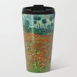 Field with Poppies Travel Mug