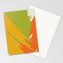 Colorful Brush Strokes AP176-12 Stationery Cards