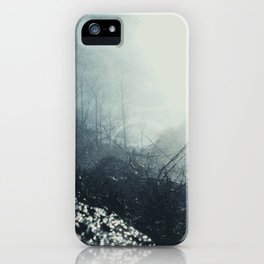 Black and Blue iPhone Case