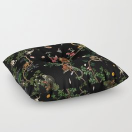 Monkey World Floor Pillow
