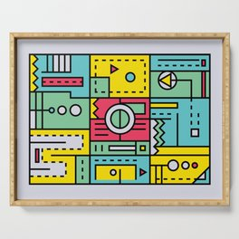 Play on words | Graphic jam Serving Tray