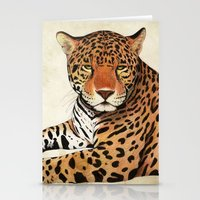 jaguar Stationery Cards featuring Jaguar by Savousepate