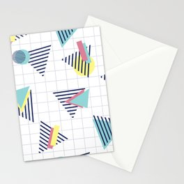 Triangle 90s Stationery Cards