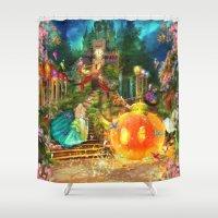 cinderella Shower Curtains featuring Cinderella by Aimee Stewart
