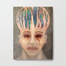 Mind Trapped Metal Print