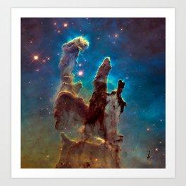 Pillars of Creation Art Print