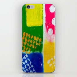 Snazzy Artsy iPhone Skin