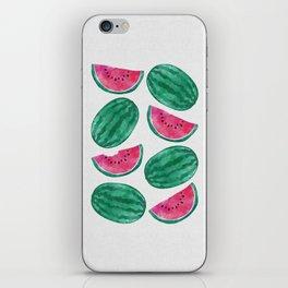 Watermelon Crowd iPhone Skin