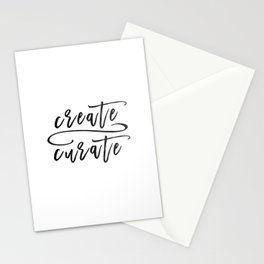 Create / Curate Stationery Cards
