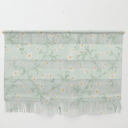 Oxeye (Mint) Wall Hanging