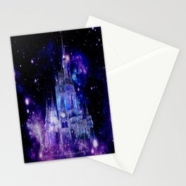 Celestial Palace : Purple Blue Enchanted Castle Stationery Cards