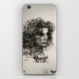involuntary dilation of the iris iPhone Skin