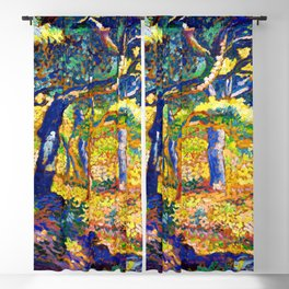 Henri Edmond Cross Clearing in Provence Blackout Curtain