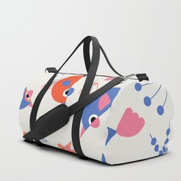 Geometric Birdies 2 Duffle Bag