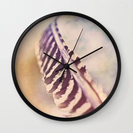 Let the wind carry you Wall Clock