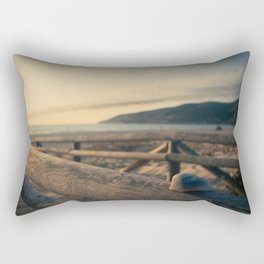 Shell on the wood Rectangular Pillow