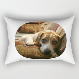 Sleepy Bruno  Rectangular Pillow