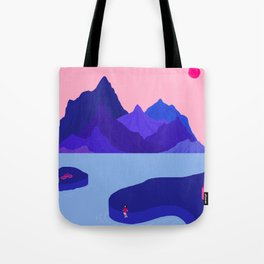 Mountain Hike//Missing Bike Tote Bag
