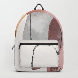 Modern Abstract Art IX Backpack
