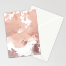 Tie Dye Browns  Stationery Cards