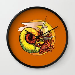 Ammonite Tea Wall Clock