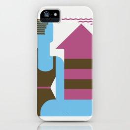 Fun on the beach jazz age iPhone Case