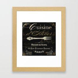 La Cuisine I Framed Art Print