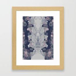 Ocean Corals Framed Art Print