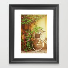 Spring Bike Ride Framed Art Print