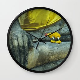 Buddha in Thailand Wall Clock