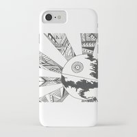 death star iPhone & iPod Cases featuring Death Star by Meg Langmyer