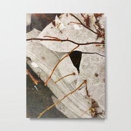 Ice Lace 1 Metal Print