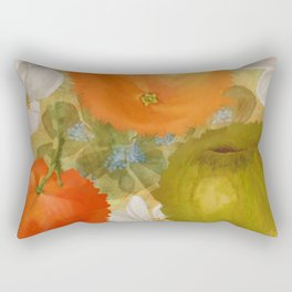 Abstract Fruits Rectangular Pillow