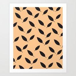More leaves Art Print